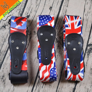 Flag Series Guitar Straps