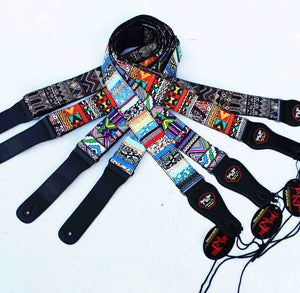 Colorful  Pattern Series Electric Guitar / Acoustic Guitar / Bass Strap