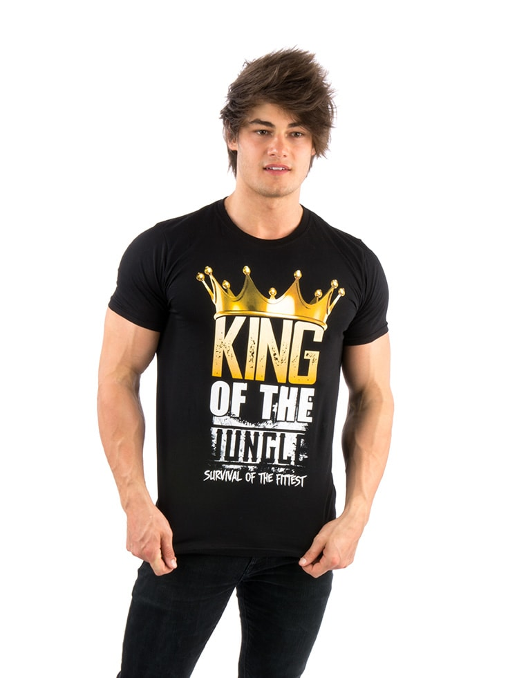 King of the Jungle T-Shirt (Black)