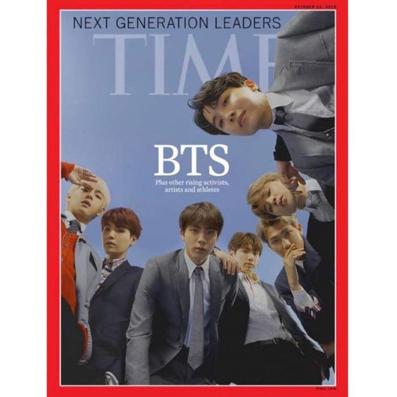 Bts 2018 Time Magazine - Book And Magazine