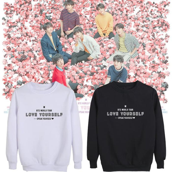 BTS BTS 2019 Speak Yourself World Tour Sweatshirt - Sweatshirt