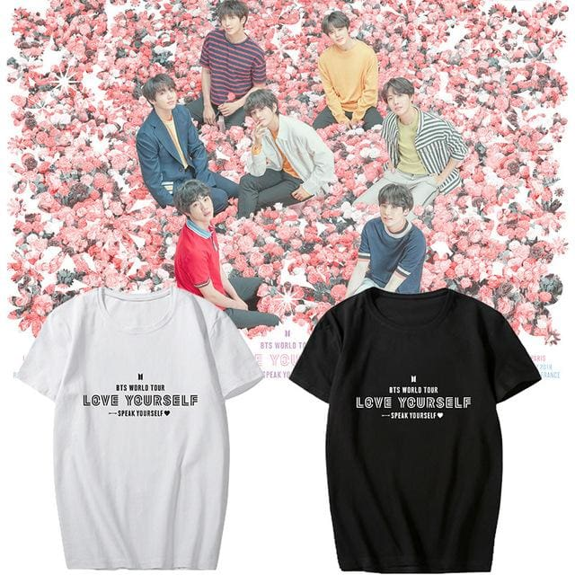495671da BTS 2019 Speak Yourself World Tour T-shirt | BTS High-Quality ...