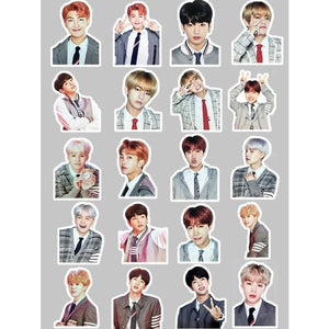 Bts 4Th Muster Happy Stickers - Stickers