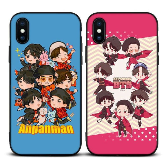 BTS Anpanman Cartoon iPhone Case - For Phone