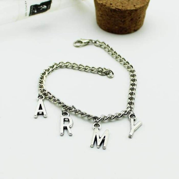 Bts Army Logo Bracelet - Accessories