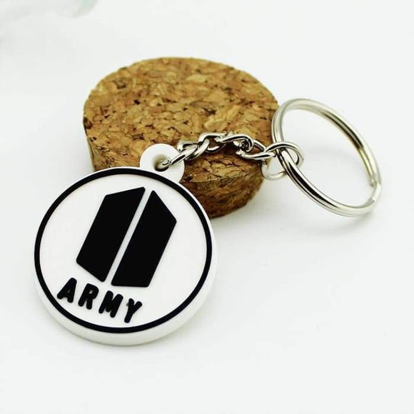 Bts Army Logo Classic Keyring - Accessories