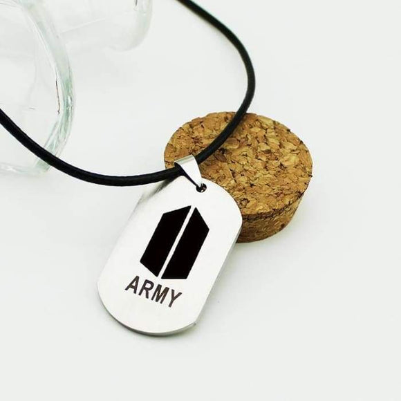 Bts Army Logo Classic Necklace - Accessories