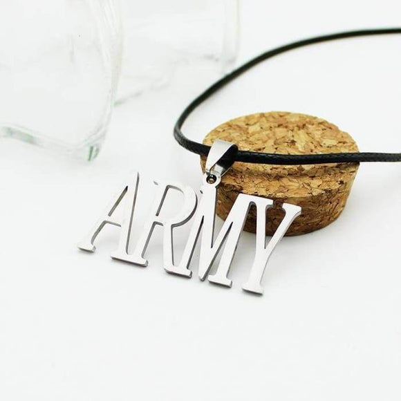 Bts Army Logo Necklace - Accessories