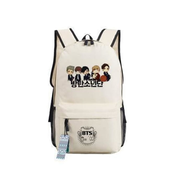Bts Backpack Cartoon Version - 8 - Bags