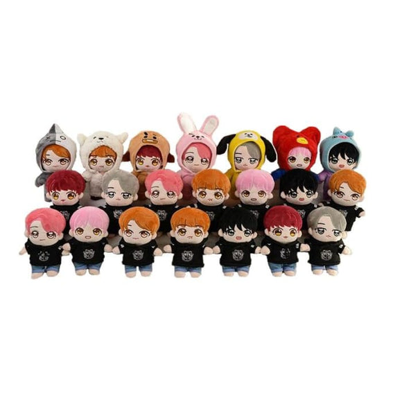 BTS Bangtan Sonyeondan Doll (Set) - Accessories