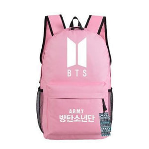 Bts Army Backpack - Bts Black - Bags