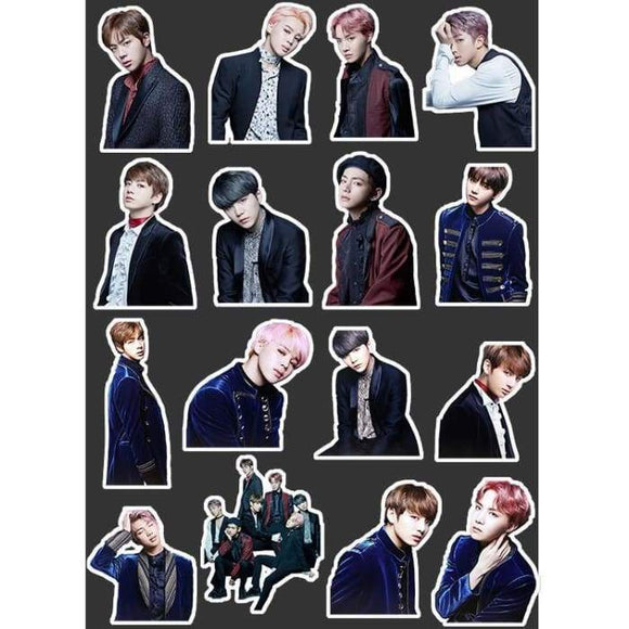Bts Blood Sweat Tear Stickers - Stickers