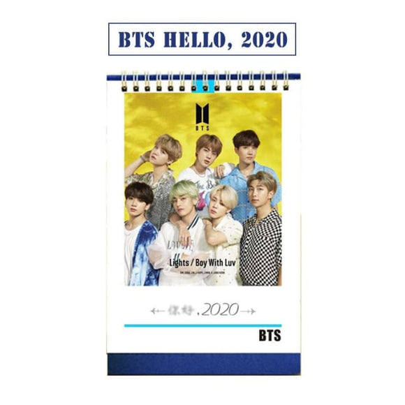 BTS BOY WITH LUV 2020 Calendar - Calendar