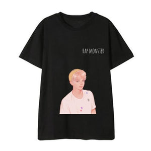 BTS Boy With Luv Painted Concept T-shirt - T-shirt