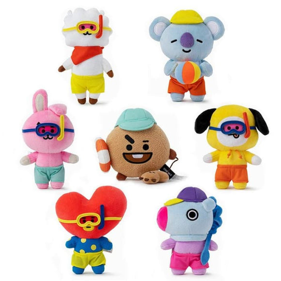 BTS BT21 Bon Voyage Summer Doll - Set Of 7 (Save 20%) - BT21