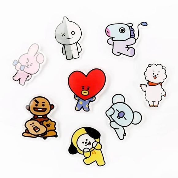 Bts Bt21 Brooch Pin Badge - Bt21