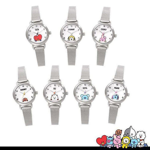 BTS BT21 Character Time Watch - BT21