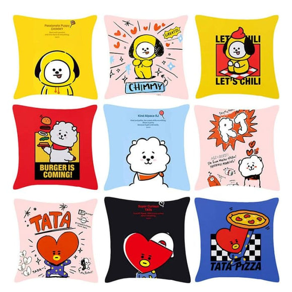 BTS BT21 Design Printed Pillow - BT21