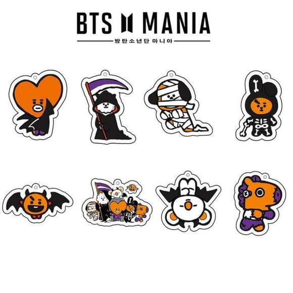 Bts Bt21 Halloween Keyring - Koya - Accessories