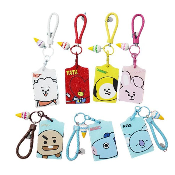BTS BT21 Ice Cream Card Hand Strap - BT21
