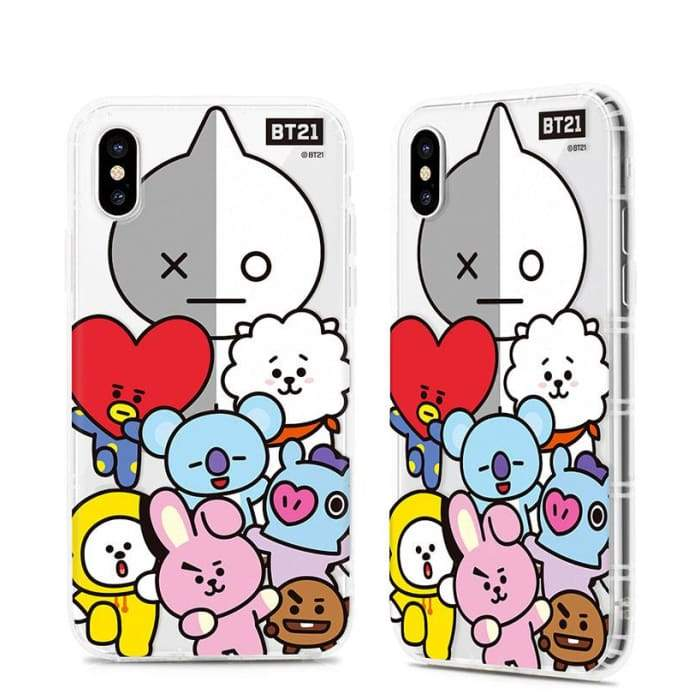 new style a0fea 10b33 BTS BT21 iPhone Case (XS / XS Max / XR )