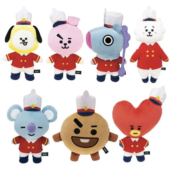 BTS BT21 Japan 1st Anniversary Doll - Set Of 7 (Save 20%) - BT21