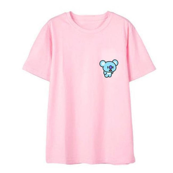 Bts Bt21 Koya T-Shirt (3 Colors) - Pink / S - T-Shirt