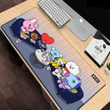 BTS BT21 Large Mouse Pad - Conference / 600mm x 300 mm - BT21