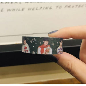 BTS BT21 Merry Christmas Design Tape - BT21