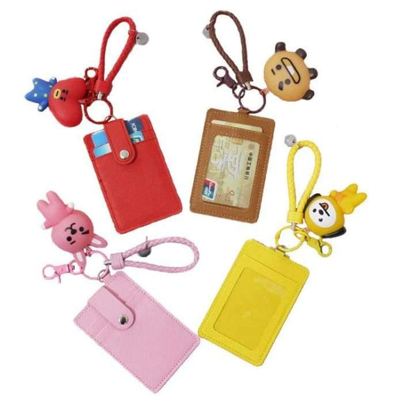 Bts Bt21 Pendant Card Holder - Bt21
