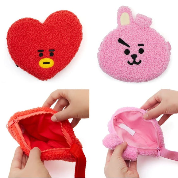 BTS BT21 Plush Purse - Accessories