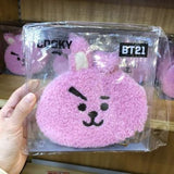 BTS BT21 Plush Purse - COOKY - Accessories