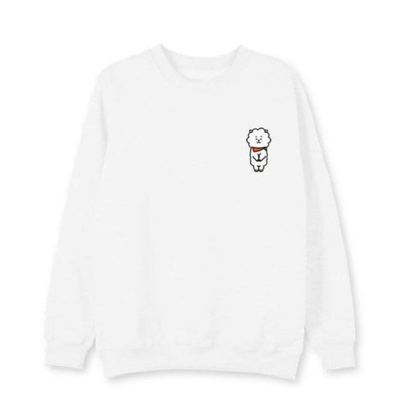 Bts Bt21 Rj Sweatshirt (3 Colors) - White / L - Sweatshirts