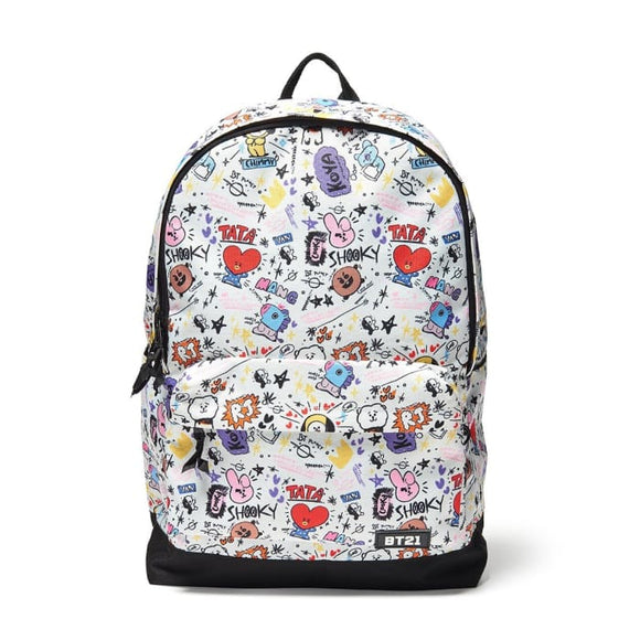 Bts Bt21 Signature Backpack - Bt21
