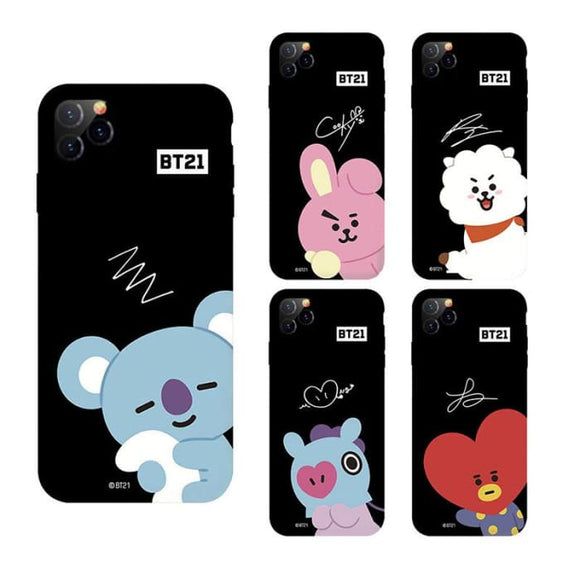 BTS BT21 Signature iPhone 11 Shell Case - For Phone