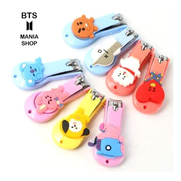BTS BT21 Stainless Steel Nail Clipper - BT21