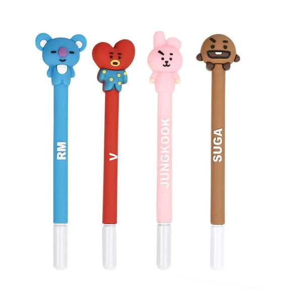 BTS BT21 Theme Member Name Pen - Set Of 8 (SAVE 20%) - BT21