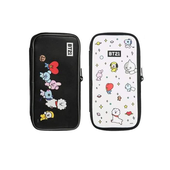 Bts Bt21 Theme Pencil Case - Bt21
