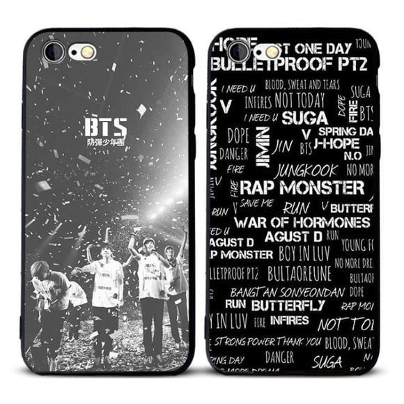 BTS Bulletproof Vest Design iPhone Case - For Phone