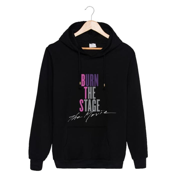 Bts Burn The Stage The Movie Classic Hoodie - Black / S - Hoodies & Jackets