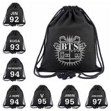 Bts Canvas Drawstring Bag - Bags