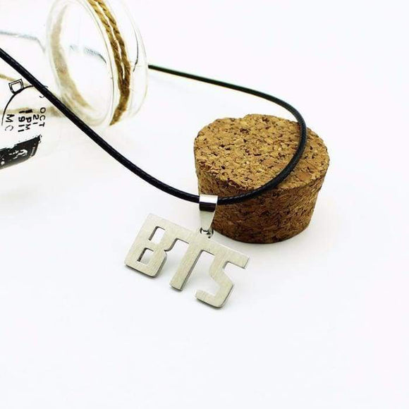 Bts Classic Logo Necklace - Accessories