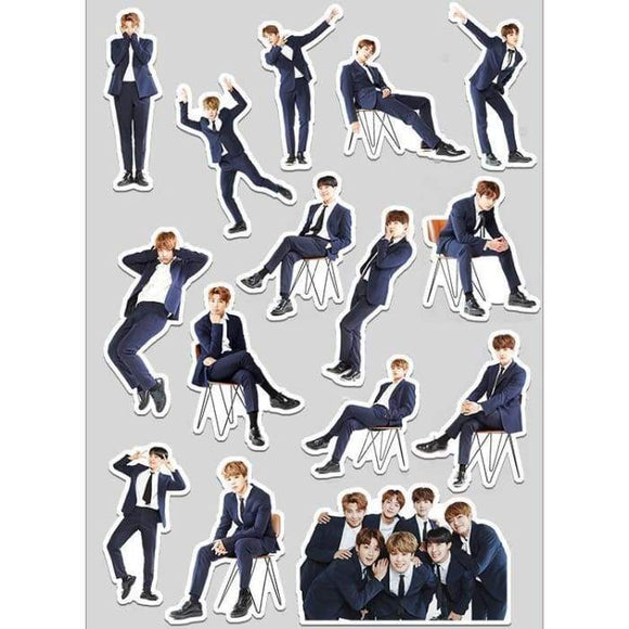 Bts Debut 4Th Anniversary Stickers - Stickers