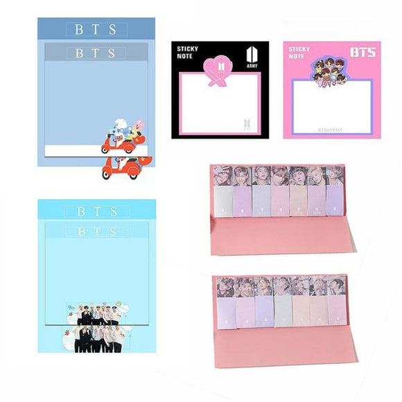 BTS Design ARMY Sticky Note - For school