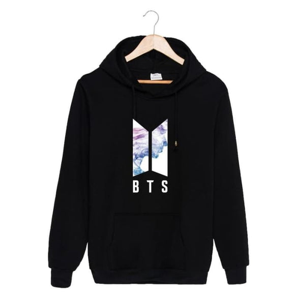 Bts Face Yourself Classic Hoodie - Black / S - Hoodie