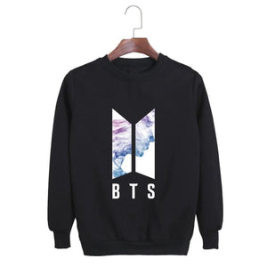 Bts Face Yourself Classic Sweatshirt - Black / S - Sweatshirt