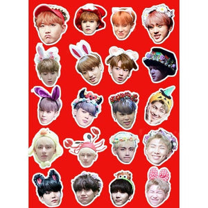 BTS Fan Meeting Stickers - Stickers
