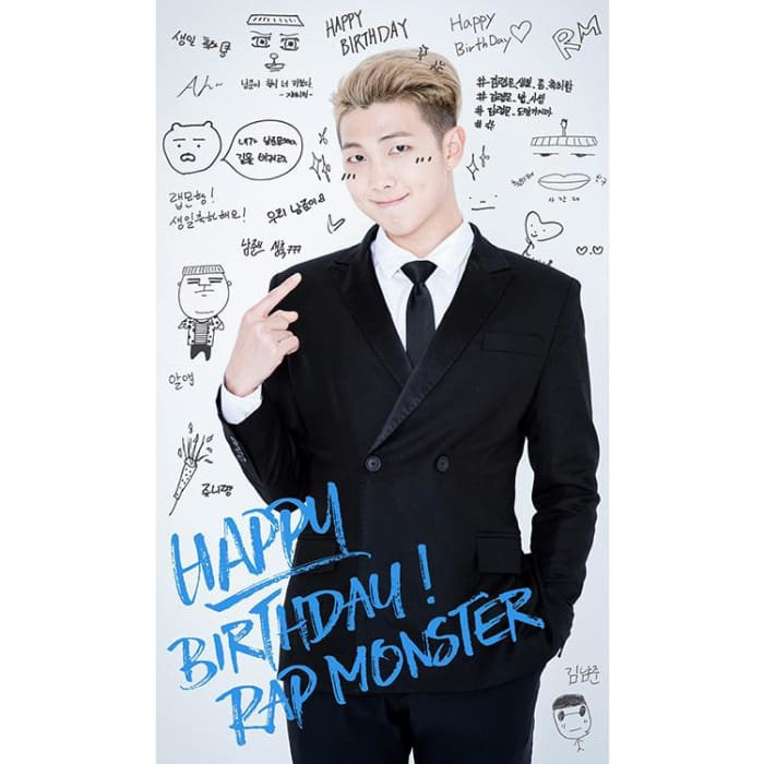 Bts Happy Birthday Wishing Collection Poster 7 Posters