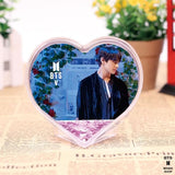 BTS Heart Design Glitter Crystal Frame - FESTA - 5 - Accessories