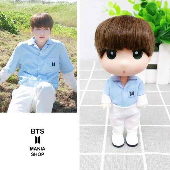 Bts Jeon Jungkook Cute Fanmade Doll - Accessories